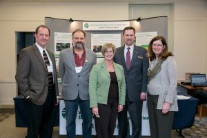Sen. Cleveland, former Rep. Deb Wallace and members of the aviation community