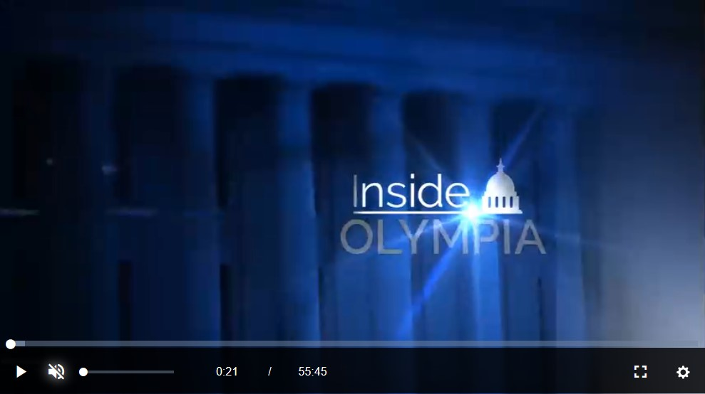Screenshot of Inside Olympia opening sequence.