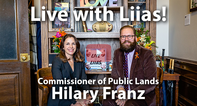 Click here for Live with Liias with special guest Hilary Franz