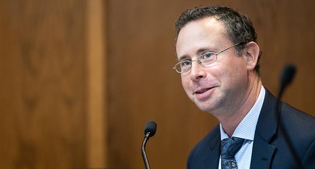 State Senator Jesse Salomon (D-32)
